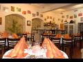 Prostřený stůl na večeři v restauraci Hotel*** U Růže