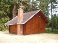 Mont� zahradn�ch chatek Vyso�ina