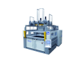 Stroje pro tepelné tvarování, výrobu forem, ořezávání plastů a kompozitů