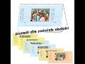 Školní nástěnné kalendáře, kalendář z fotografií-grafické studio