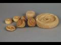 Holzdrehen, kleine Holzprodukte, die Tschechische Republik