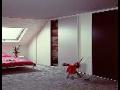 Výroba šatních skříní do atypických místností