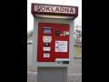 Automatická pokladna, která je součástí systému pro výběr parkovacího poplatku