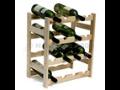 Sklepní regál na víno