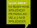 Poskytnutí sídla společnosti a korespondenční adresy-Brno