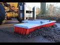 Zametače a zametací zařízení k odstraňování nečistot Bořetice, jižní Morava