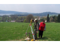 Geodetick� pr�ce a geometrick� pl�ny �esk� Bud�jovice