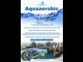 Lekce aquaaerobic, cvičení ve vodě Vsetín