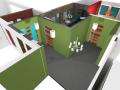 Počítačová 3D vizualizace interiéru a exteriéru Olomouc