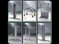 Výroba kovových součástí pro nábytek, přístrojové skříně