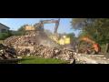 B�ranie, demol�cia, v�kopy z�kladov stavieb, domov Zl�nsky kraj, �R