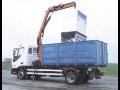 Práce hydraulickou rukou