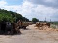 Gro�handel mit Brennholz, Holzverkauf Znaim, die Tschechische Republik