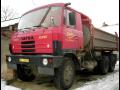 P�eprava sypk�ch materi�l� skl�p��em Tatra 815
