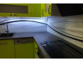 Výroba, prodej, montáž, Obkladová skla za kuchyňskou linku, Skleněné obklady s grafikou Karlovy Vary