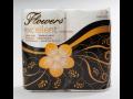 Toaletní papír Flowers Excellent x4,2-vrstvý,celuloza