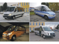 Conversions and modifications of small buses, minibuses, midibuses, microbuses