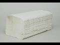Skládané papírové ručníky zetForm® do umýváren, savé, vysoce kvalitní ručníky, dodávka