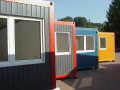 Container configurations, modular architecture, modules, schools, kindergartens, the Czech Republic