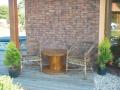 D�ev�n� dekorativn� bubny, stoly z c�vek - origin�ln� dopln�k interi�ru