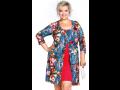 Nadrozměrná dámská móda-jarní katalog XXL oblečení