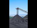 Transport von Schüttgütern mit Kippanhänger, Kohle, Kies, Sand, Schlacke, die Tschechische Republik