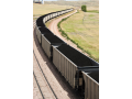Velkokapacitní přeprava sypkých hmot sklápěcími návěsy - štěrk, písek, ...