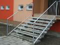 Revitalizace panelových domů, sanace balkonů, schodišť Šternberk