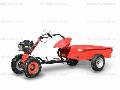 Prodej malotraktorů - malotraktor Vari s návěsem ANV  - 400