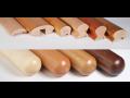 Výroba drevených držadiel, profilové a kruhové držadlá