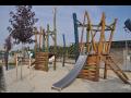 Dřevěná dětská hřiště, herní prvky, vybavení dětských hřišť-výroba