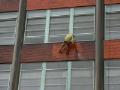 Čištění fasády ve výškách