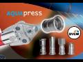 Lisovací fitinky z nerezavějících ocelí Aquapress