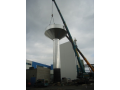montáž všech typů vodojemů, stavba Brno