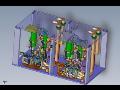 Jednoúčelové stroje pro svařování, lepení i pálení laserem.