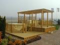 Zakázková výroba dřevěných pergol Příbram