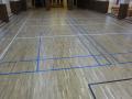 Realizace podlahy v tělocvičně