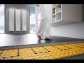 Elektrické podlahové vytápění, topení, topné kabely Ditra Heat