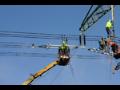 Výstavba elektrického vedení Praha