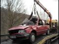 V případě defektu nebo nehody jej naložíme pomocí hydraulické ruky