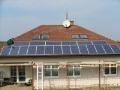 Mont� fotovoltaick�ch elektr�ren a sol�rn�ch panel�