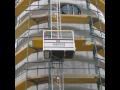 Žebříkový výtah GEDA se výšek nebojí - Litomyšl