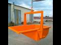 Výklopné kontejnery pro přepravu stavebních materiálů - Litomyšl