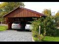 Výroba garážových stání ze dřeva Příbram