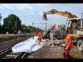 železniční stavby včetně demolice