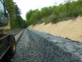 železniční stavby od roku 1993