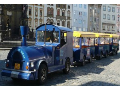 Turistický vláček, vyhlídkové jízdy vláčkem Olomouc, Luhačovice, Zlín, Hodonín