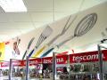 Textilní vybavení provozovny, prodejny-předměty s reklamním potiskem