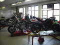 opravy motocyklu po nehodě