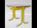 lavice - žlutá barva